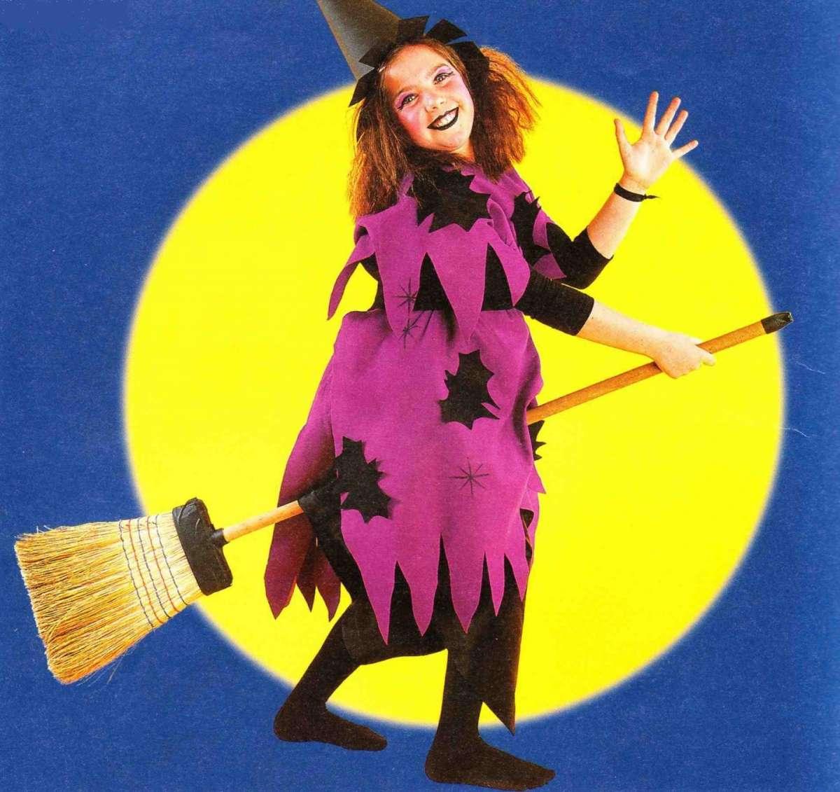 Costumi di Halloween fai da te per bambini: la strega [FOTO]