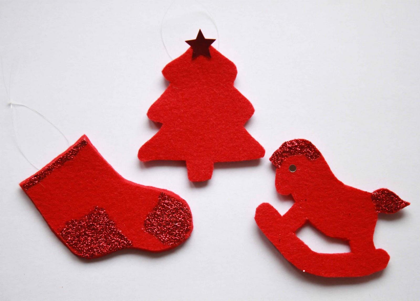 Creare Addobbi Natalizi In Feltro.Decorazioni Di Natale Con Il Feltro Idee E Lavoretti Fai Da Te