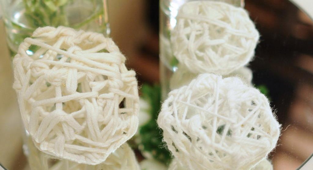 Centrotavola lana