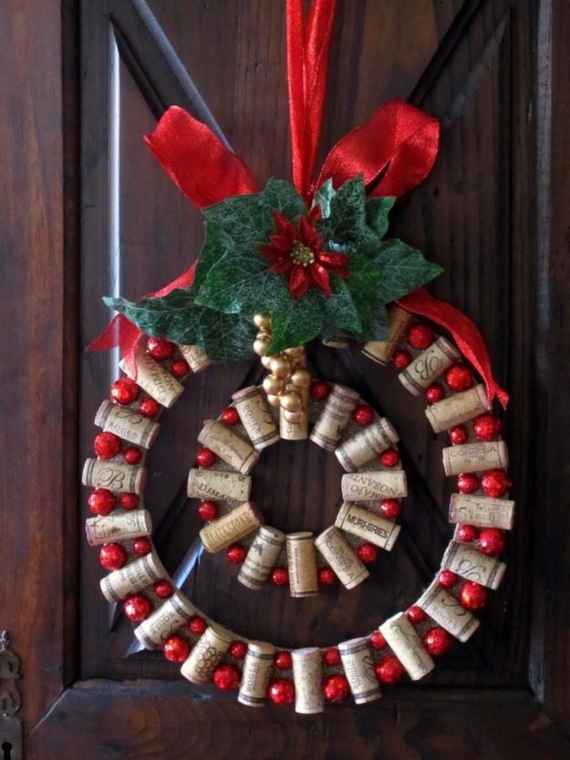 Addobbi Natalizi Con Tappi Di Sughero.Decorazioni Di Natale Lavoretti Con I Tappi Di Sughero Pourfemme