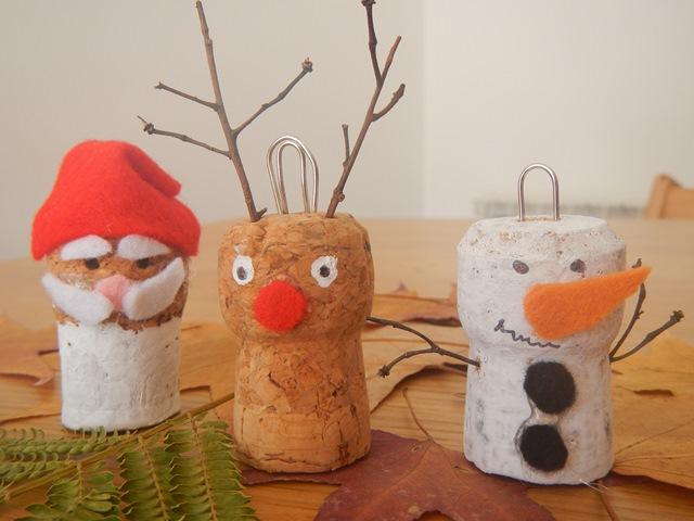 Semplici personaggi natalizi
