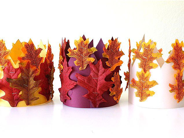 corone di foglie