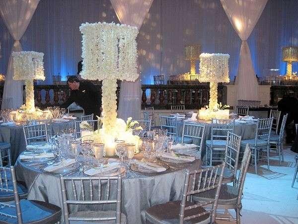 Addobbi Floreali Matrimonio Azzurro : Matrimonio in inverno: idee per decorazioni fiori e colori [foto