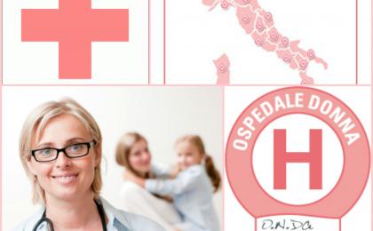 Bollini rosa: 230 ospedali a misura di donna