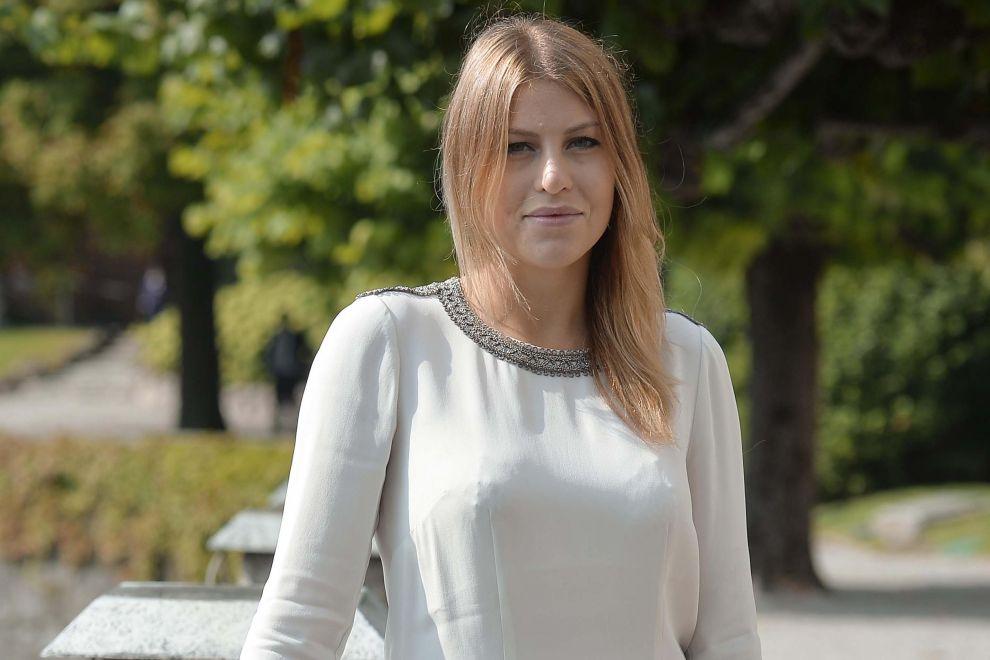 Capelli biondi con riflessi rossi per Barbara Berlusconi