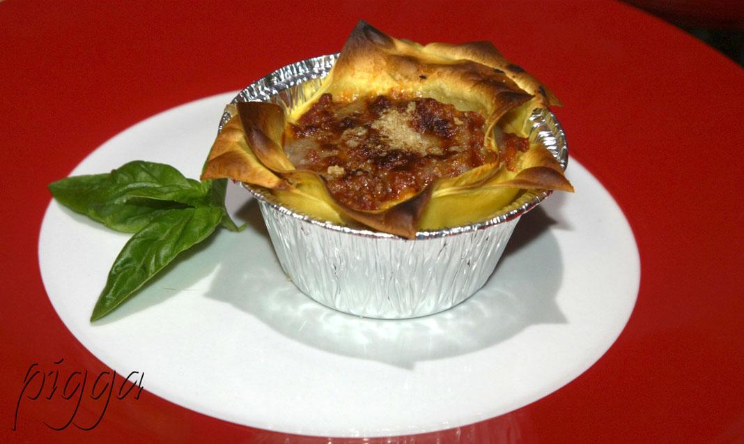 Mini lasagne, primo light per il cenone di Capodanno