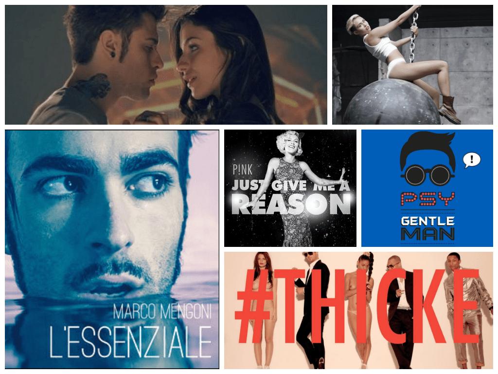 I video musicali più visti del 2013 in Italia
