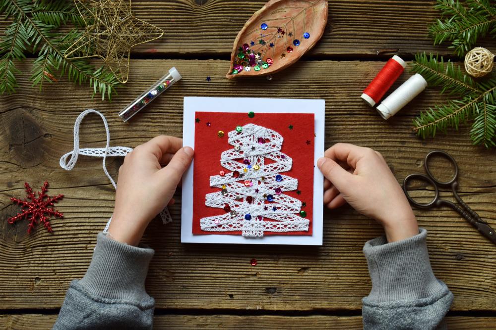 Biglietti auguri di Natale fai da te: i più belli da realizzare