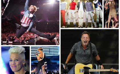 I concerti più visti del 2013