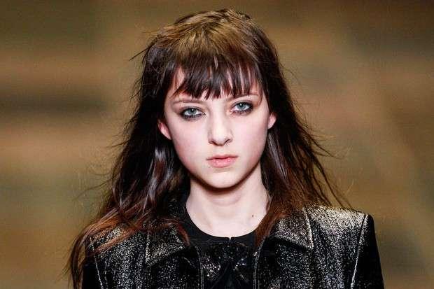 Look grunge con make up sbavato