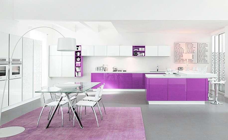 Radiant Orchid il colore del 2014 per la cucina