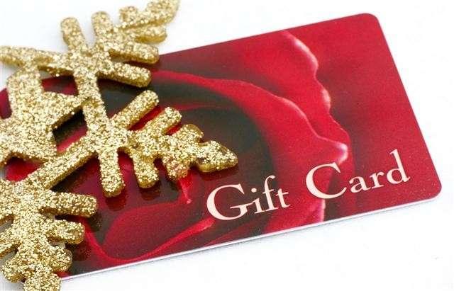 Una gift card
