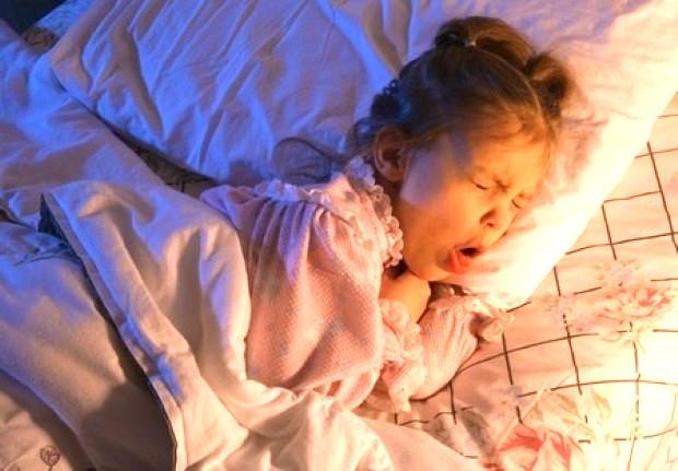 Tosse notturna nei bambini