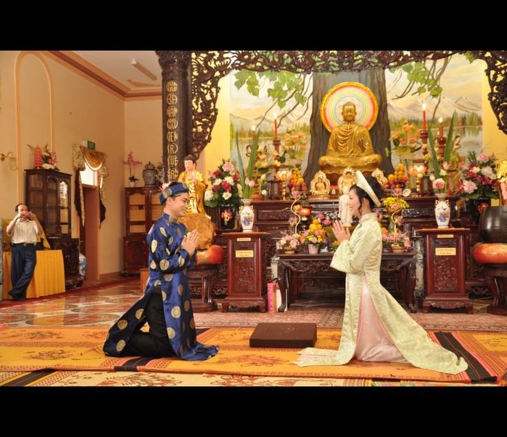 Matrimonio buddista il rito
