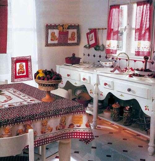 Cucito country: idee per la cucina [FOTO]