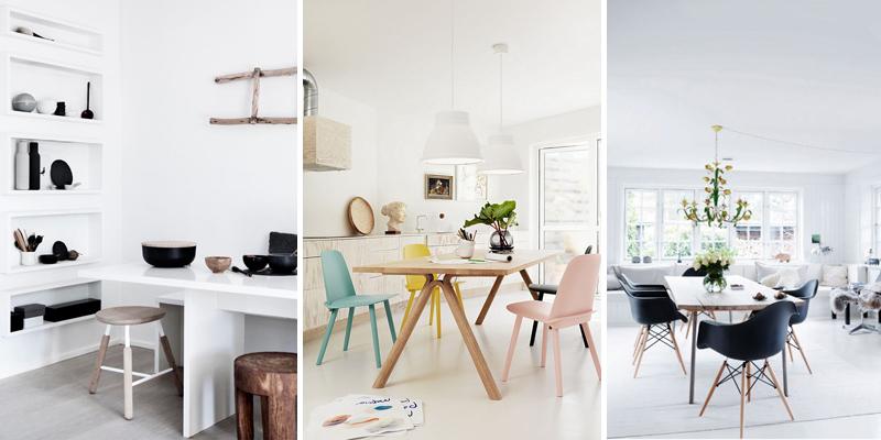 I colori e i materiali utilizzati nella casa di stile nordica