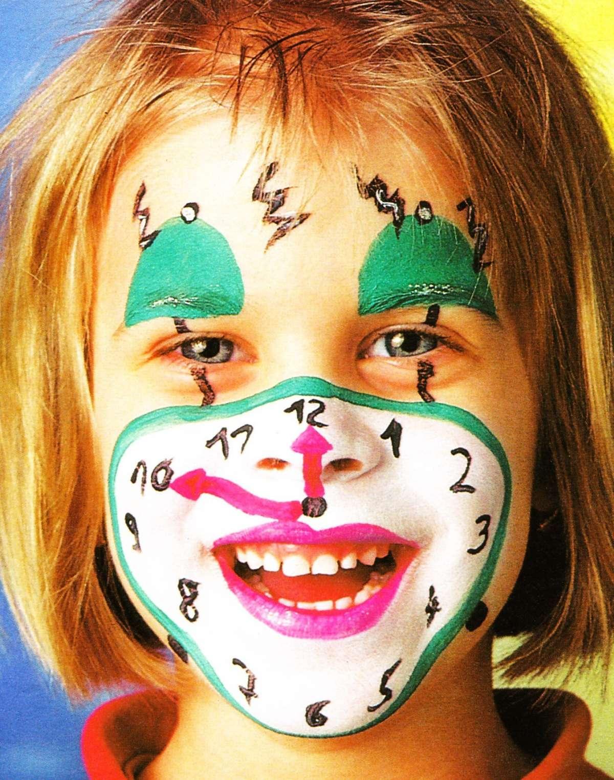 Carnevale: trucco viso per i bambini [FOTO]