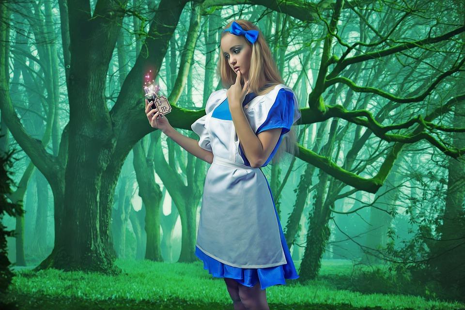 Costume di Carnevale Alice nel Paese delle Meraviglie