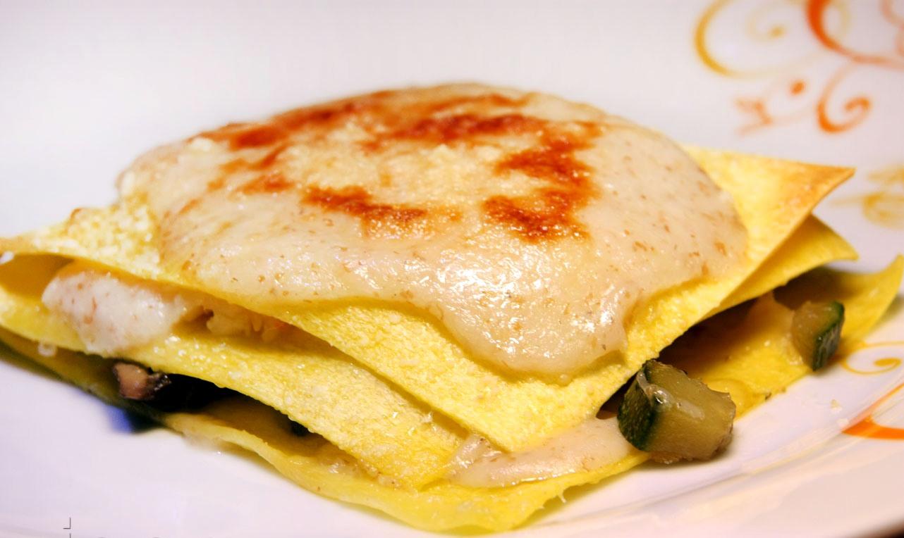 Lasagnette mare e monti, ricetta per un primo light