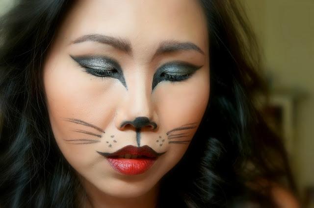 make up semplice da gatta per carnevale