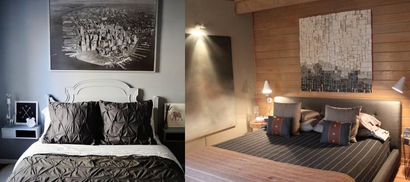 Scegliere i quadri per la camera da letto