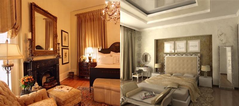 Quadri per la camera da letto classica
