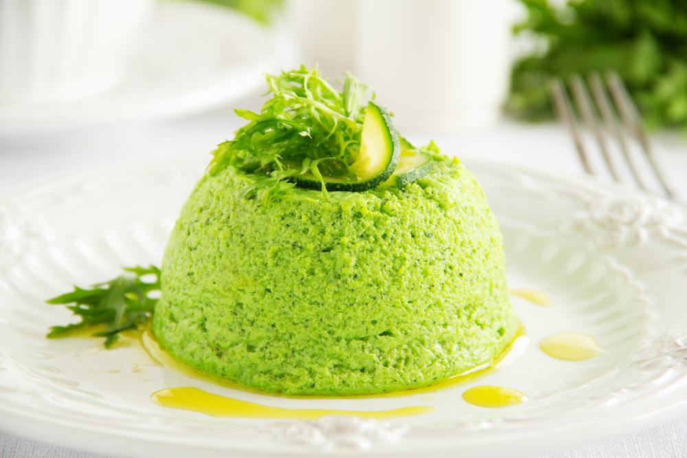 ricette vegetariane light flan di asparagi