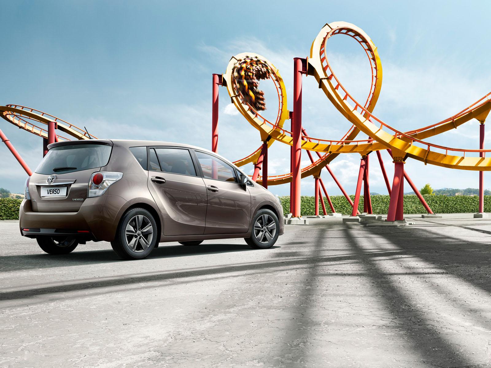 Toyota verso multitasking