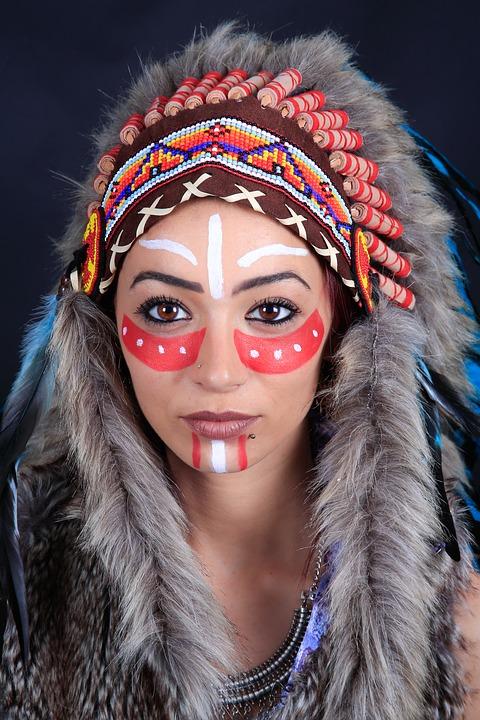 Cpstume Carnevale da indiana