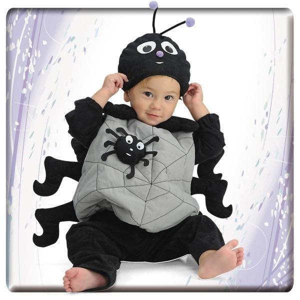 costume da ragno per neonato