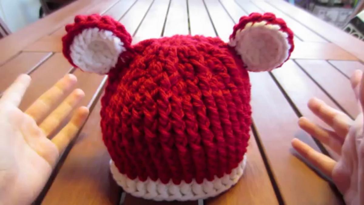 Cappelli di lana per bambini ai ferri  gli schemi  FOTO   3e3964474bf9