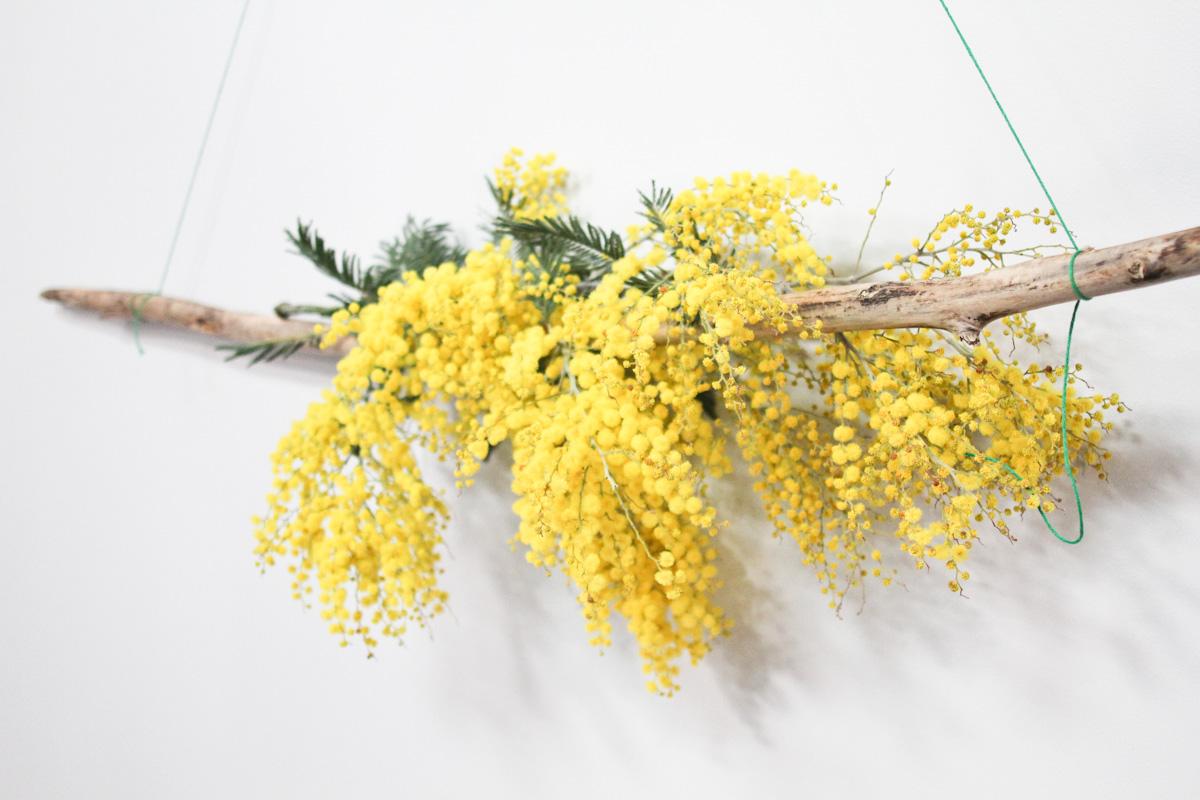 mimosa lavoretto festa della donna