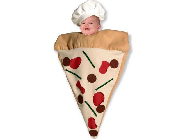Costume neonato pizza