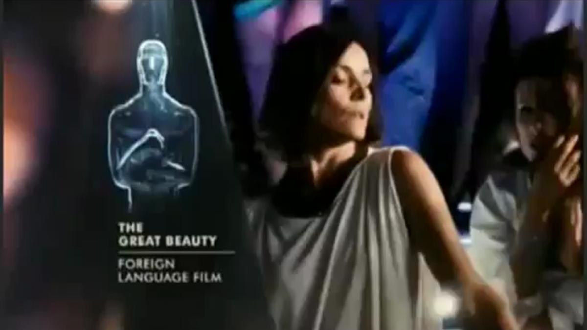 La Grande Bellezza conquista Hollywood VIDEO