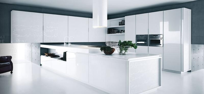L 39 arredamento total white il bianco per la tua casa foto for Casa moderna total white