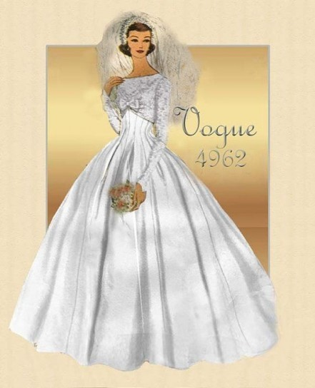 I cartamodelli più belli per abiti da sposa