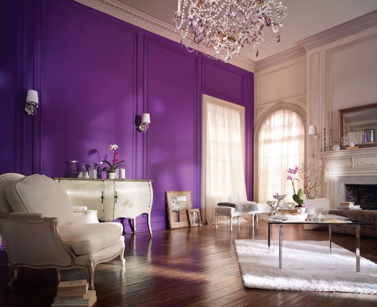 Pareti Color Oro Camera Da Letto : Come abbinare i colori di pareti e mobili foto pourfemme