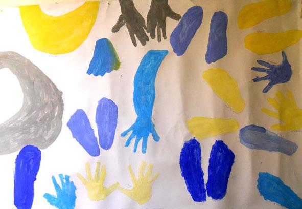 Impronte che fanno arte
