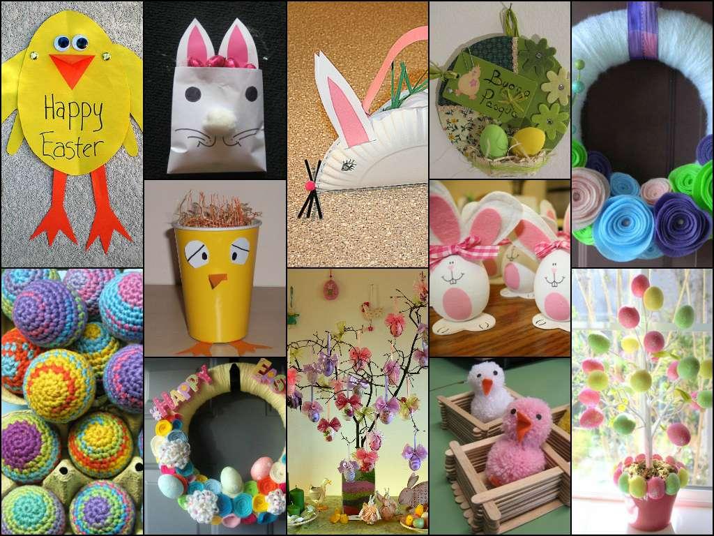 Lavoretti di Pasqua per bambini della scuola dell'infanzia [FOTO]