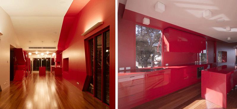 I colori caldi per la casa
