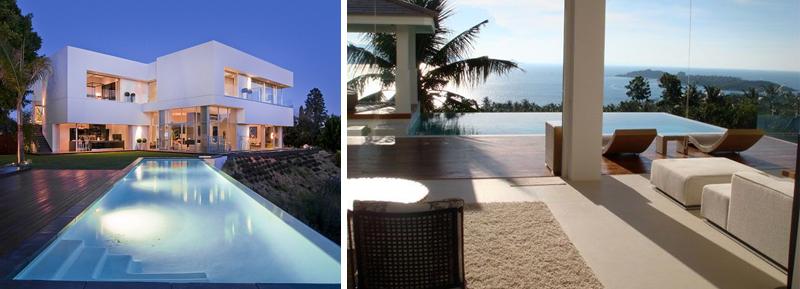 Villa moderna design