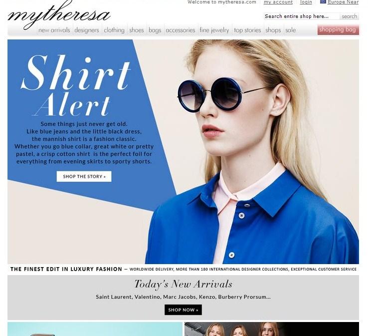 ade7ed8579ac Sullo stesso livello di luisaviaroma.com e net-a-porter è il bel sito  mytheresa.com