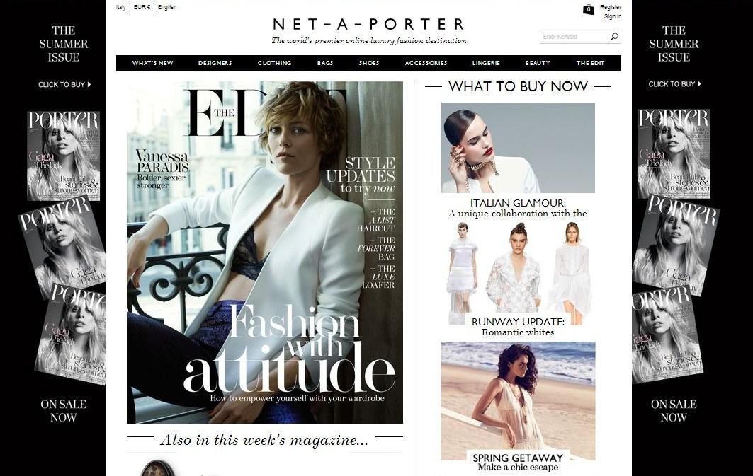 dfa3794b3052 Chi tra voi shopping addicted non conosce ancora Net-a-porter  Da dieci  anni a questa parte è uno dei siti di shopping online più famosi