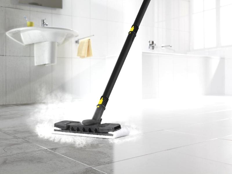 Generatore di vapore kärcher de per pulire senza usare