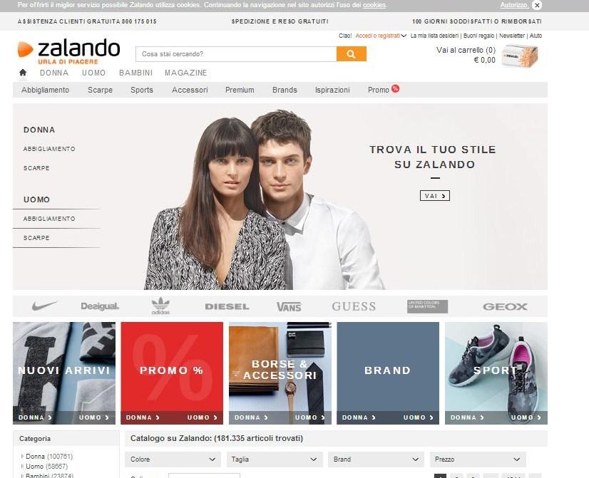 0ededb75db59 Shopping online  abbigliamento e scarpe da comprare con un semplice ...