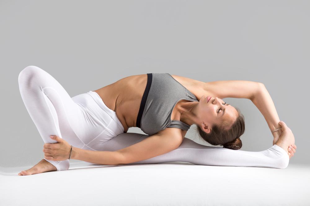 janu sirsasana yoga per concepire
