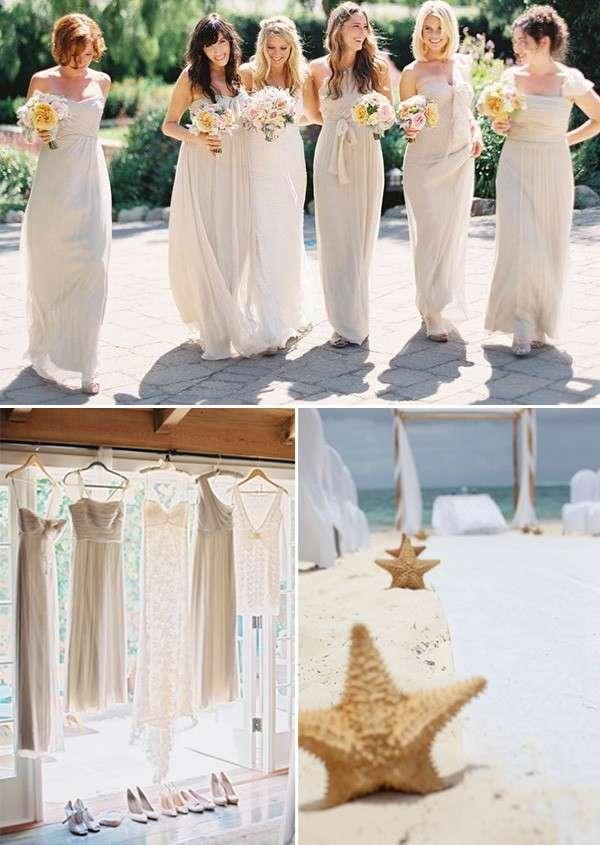 Matrimonio In Spiaggia Abito Da Sposa : Abiti da sposa per un matrimonio in spiaggia foto
