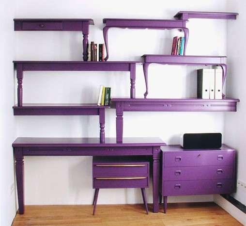 Costruire Mensole Per Libreria A Muro.Librerie E Scaffali Fai Da Te Con Il Riciclo Creativo Tante Idee