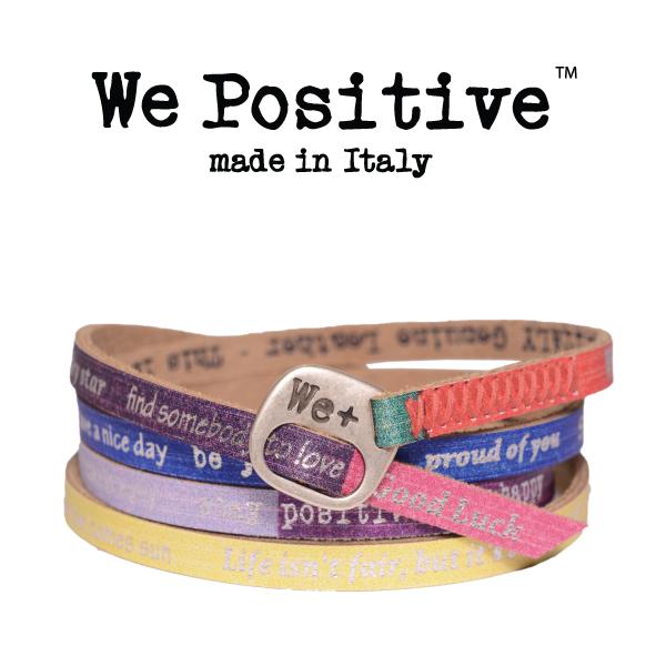 we positive multicolor
