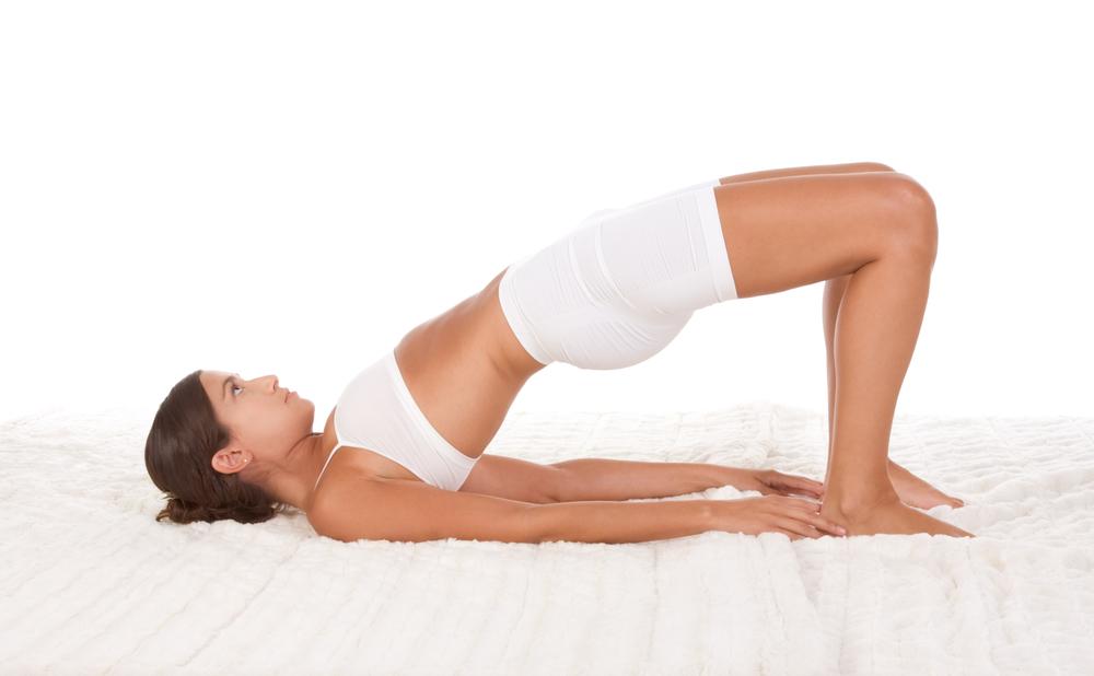 yoga per fertilita posizione ponte